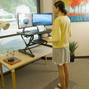 FlexiSpot 35 Wide Standing Desk Riser 2