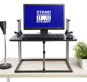 The UpTrak Metro Pro SitStand Standing Desk