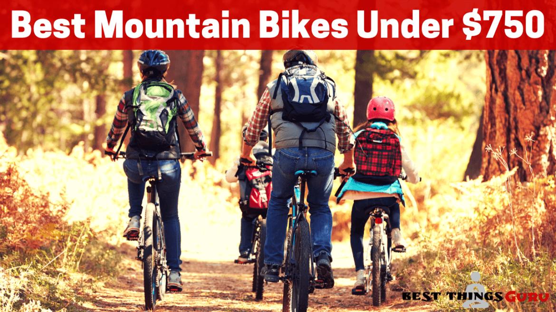 Best Mountain Bikes Under 750 Reviews