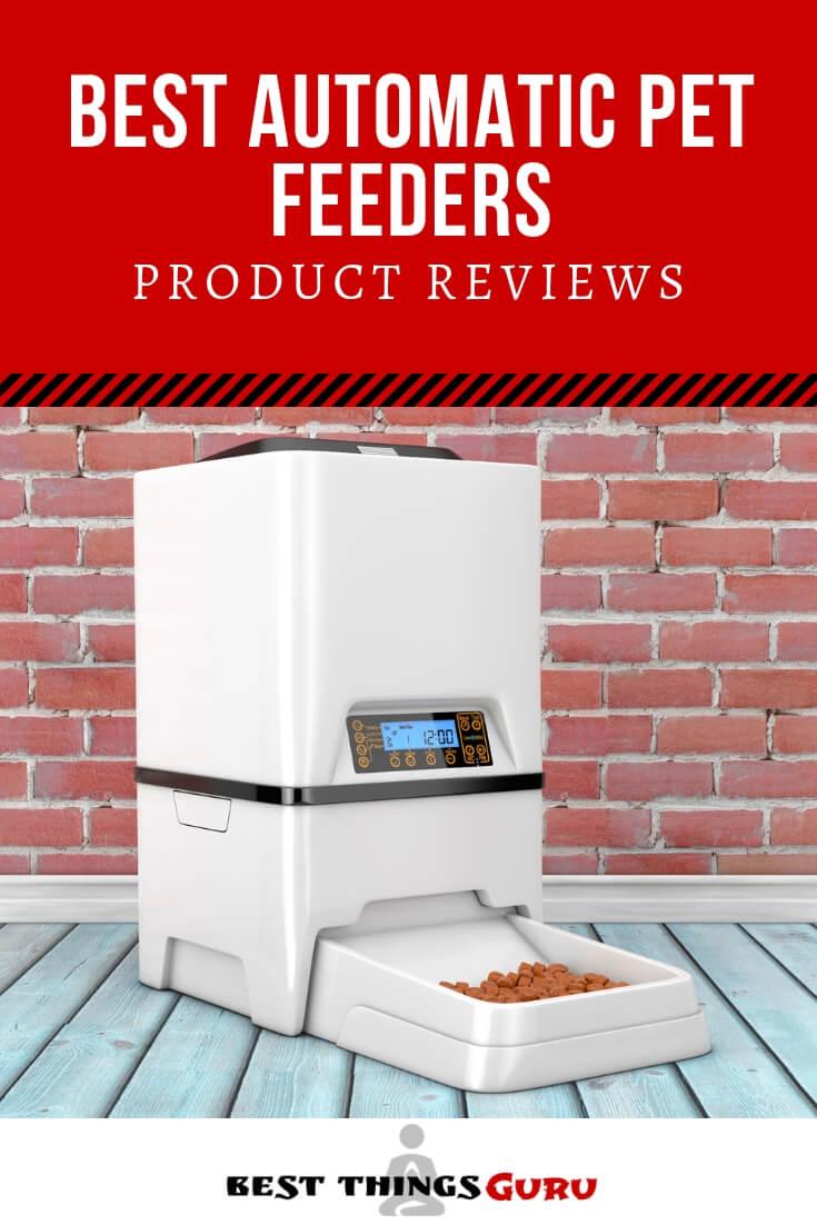 Best Automatic Pet Feeder Reviews Pinterest